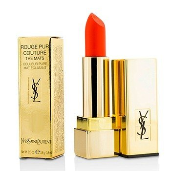 YVES SAINT LAURENT ROUGE PUR COUTURE THE MATS - # 220 CRAZY TANGERINE  3.8G/0.13OZ