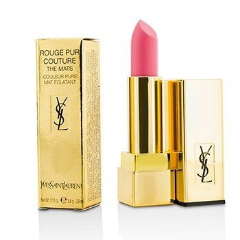 YVES SAINT LAURENT ROUGE PUR COUTURE THE MATS - # 224 ROSE ILLICITE  3.8G/0.13OZ