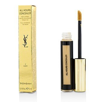 YVES SAINT LAURENT ALL HOURS CONCEALER - # 2 IVORY  5ML/0.16OZ