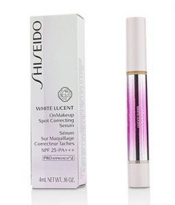 SHISEIDO WHITE LUCENT ONMAKEUP SPOT CORRECTING SERUM SPF 25 PA+++ - # NATURAL LIGHT  4ML/0.16OZ