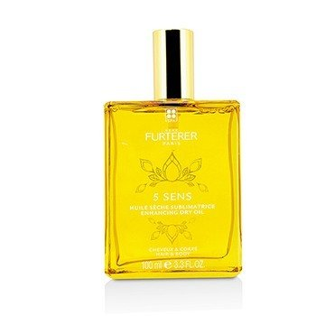 RENE FURTERER 5 SENS ENHANCING DRY OIL (HAIR & BODY)  100ML/3.3OZ