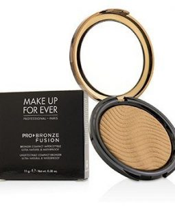 MAKE UP FOR EVER PRO BRONZE FUSION UNDETECTABLE COMPACT BRONZER - # 20M (SAND)  11G/0.38OZ