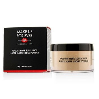MAKE UP FOR EVER SUPER MATTE LOOSE POWDER - # 12 (TRANSLUCENT NATURAL)  28G/0.98OZ