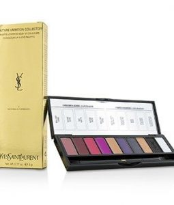 YVES SAINT LAURENT COUTURE VARIATION COLLECTOR 10 COLOUR LIP & EYE PALETTE - # 5 NOTHING IS FORBIDDEN  5G/0.17OZ