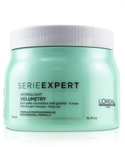 L'OREAL PROFESSIONNEL SERIE EXPERT - VOLUMETRY HYDRALIGHT VOLUME GEL-MASQUE  500ML/16.9OZ
