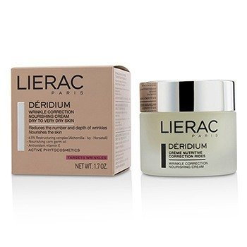 LIERAC DERIDIUM WRINKLE CORRECTION NOURISHING CREAM (FOR DRY TO VERY DRY SKIN)  50ML/1.7OZ