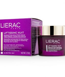 LIERAC LIFTISSIME NUIT REDENSIFYING SCULPTING NIGHT CREAM  50ML/1.7OZ