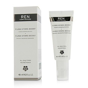 REN FLASH HYDRO-BOOST INSTANT PLUMPING EMULSION - FOR ALL SKIN TYPES  40ML/1.3OZ