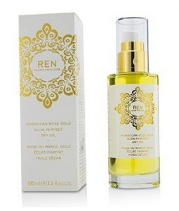 REN MOROCCAN ROSE GOLD GLOW PERFECT DRY OIL  100ML/3.3OZ