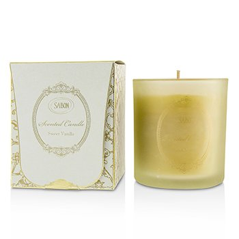 SABON GLASS CANDLES - SWEET VANILLA  250ML/8.79OZ