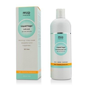 MAMA MIO LIQUID YOGA RESTORATIVE BATH SOAK  450ML/15OZ