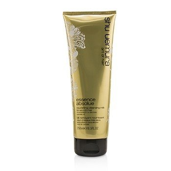 SHU UEMURA ESSENCE ABSOLUE NOURISHING CLEANSING MILK (FOR VERY DRY HAIR)  250ML/8.5OZ