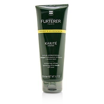 RENE FURTERER KARITE HYDRA HYDRATING RITUAL HYDRATING SHINE MASK - DRY HAIR (SALON PRODUCT)  250ML/8.7OZ