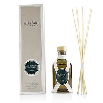 MILLEFIORI VIA BRERA FRAGRANCE DIFFUSER - GREEN REVERIE  100ML/3.3OZ