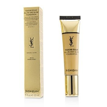 YVES SAINT LAURENT TOUCHE ECLAT ALL IN ONE GLOW FOUNDATION SPF 23 - # BD50 WARM HONEY  30ML/1OZ