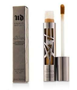 URBAN DECAY ALL NIGHTER WATERPROOF FULL COVERAGE CONCEALER - # DARK (WARM)  3.5ML/0.12OZ