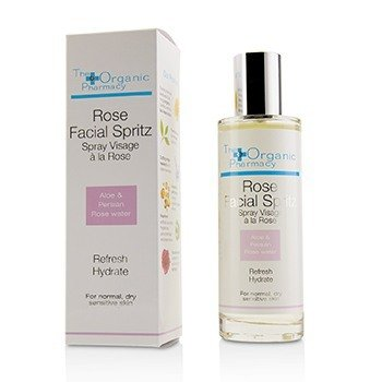 THE ORGANIC PHARMACY ROSE FACIAL SPRITZ - FOR NORMAL, DRY & SENSITIVE SKIN  100ML/3.3OZ