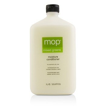 MOP MOP MIXED GREENS MOISTURE CONDITIONER (FOR NORMAL TO DRY HAIR)  1000ML/33.8OZ