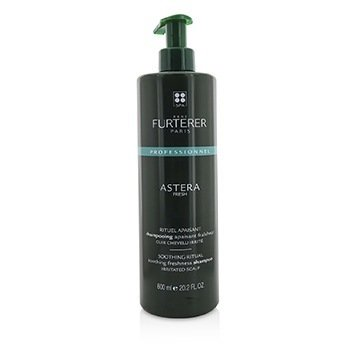 RENE FURTERER ASTERA FRESH SOOTHING RITUAL SOOTHING FRESHNESS SHAMPOO - IRRITATED SCALP (SALON PRODUCT)  600ML/20.2OZ