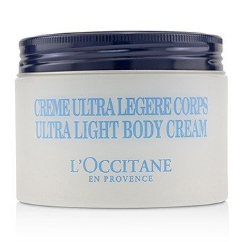 L'OCCITANE SHEA BUTTER 5% ULTRA LIGHT CREAM FOR BODY 01CL200K17/480007  200ML/6.7OZ