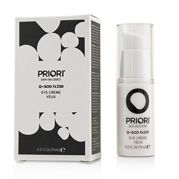 PRIORI Q+SOD FX230 - EYE CREME  15ML/0.5OZ
