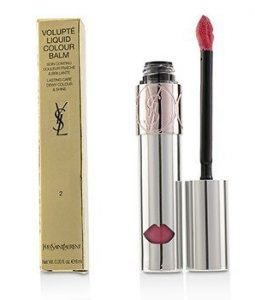 YVES SAINT LAURENT VOLUPTE LIQUID COLOUR BALM - # 2 EXPOSE ME ROSE  6ML/0.2OZ