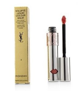 YVES SAINT LAURENT VOLUPTE LIQUID COLOUR BALM - # 3 SHOW ME PEACH  6ML/0.2OZ