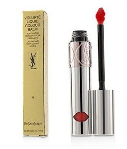 YVES SAINT LAURENT VOLUPTE LIQUID COLOUR BALM - # 6 UNDRESS ME CORAL  6ML/0.2OZ