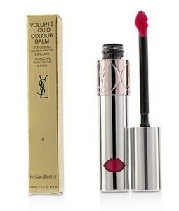 YVES SAINT LAURENT VOLUPTE LIQUID COLOUR BALM - # 8 EXCITE ME PINK  6ML/0.2OZ