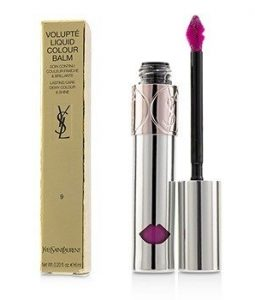 YVES SAINT LAURENT VOLUPTE LIQUID COLOUR BALM - # 9 STRIP ME FUCHSIA  6ML/0.2OZ