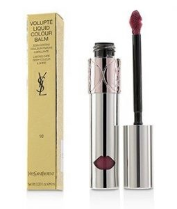 YVES SAINT LAURENT VOLUPTE LIQUID COLOUR BALM - # 10 DEVOUR ME PLUM  6ML/0.2OZ