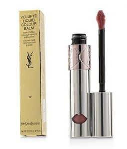 YVES SAINT LAURENT VOLUPTE LIQUID COLOUR BALM - # 12 CHASE ME NUDE  6ML/0.2OZ