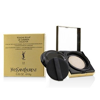 YVES SAINT LAURENT TOUCHE ECLAT LE CUSHION LIQUID FOUNDATION COMPACT - #B40 SAND (COLLECTOR)  15G/0.53OZ
