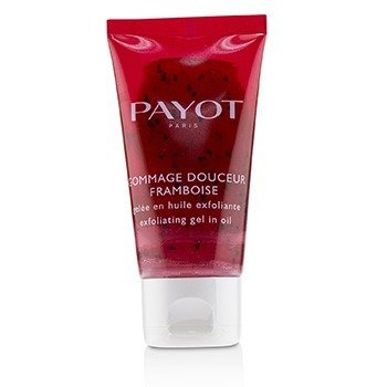 PAYOT GOMMAGE DOUCEUR FRAMBOISE EXFOLIATING GEL IN OIL  50ML/1.6OZ