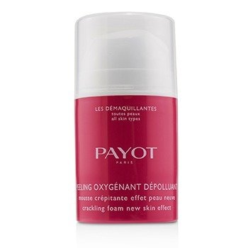 PAYOT LES DEMAQUILLANTES PEELING OXYGENANT DEPOLLUANT - CRACKING FOAM NEW SKIN EFFECT  40ML/1.35OZ