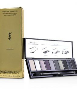 YVES SAINT LAURENT COUTURE VARIATION 10 COLOR EYE PALETTE - # 04 UNDERGROUND  10X0.02G/0.5G