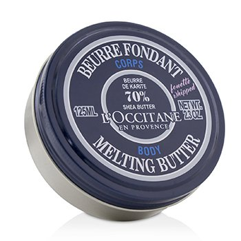 L'OCCITANE SHEA BUTTER 70% MELTING BUTTER FOR BODY  125ML/2.3OZ