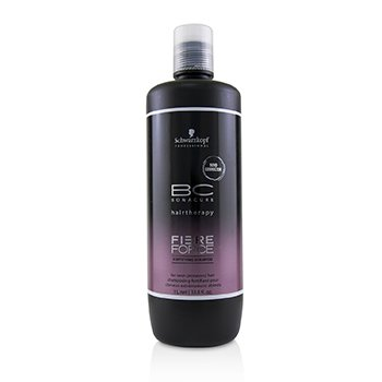 SCHWARZKOPF BC BONACURE FIBRE FORCE FORTIFYING SHAMPOO (FOR OVER-PROCESSED HAIR)  1000ML/33.8OZ