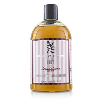 THE ART OF SHAVING BODY WASH - SANDALWOOD ESSENTIAL OIL  480ML/16.2OZ
