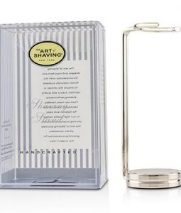 THE ART OF SHAVING COMPACT SHAVING STAND - NICKEL (FOR BRUSH)  1PC