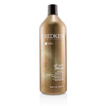 REDKEN ALL SOFT MEGA SHAMPOO (NOURISHMENT FOR SEVERELY DRY HAIR)  1000ML/33.8OZ