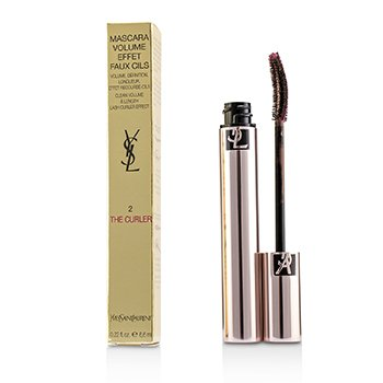 YVES SAINT LAURENT VOLUME EFFET FAUX CILS THE CURLER MASCARA - # 02 FEARLESS BROWN  6.6ML/0.22OZ