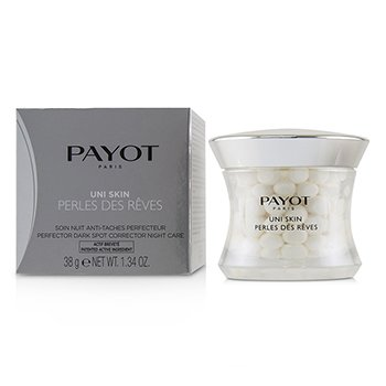 PAYOT UNI SKIN PERLES DES REVES PERFECTOR DARK SPOT CORRECTOR NIGHT CARE  38G/1.34OZ