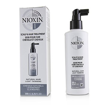 NIOXIN DIAMETER SYSTEM 1 SCALP & HAIR TREATMENT (NATURAL HAIR, LIGHT THINNING)  200ML/6.76OZ