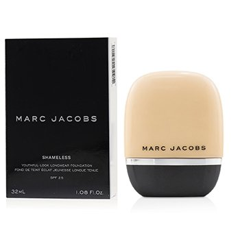 MARC JACOBS SHAMELESS YOUTHFUL LOOK LONGWEAR FOUNDATION SPF25 - # FAIR Y110  32ML/1.08OZ