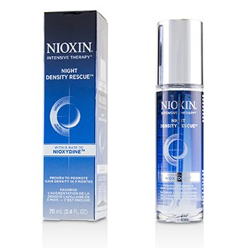 NIOXIN INTENSIVE THERAPY NIGHT DENSITY RESCUE WITH NIOXYDINE24  70ML/2.4OZ