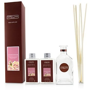 THE CANDLE COMPANY (CARROLL & CHAN) REED DIFFUSER - CHAMPAGNE ROSE  200ML/6.76OZ