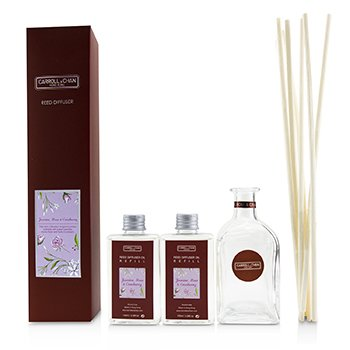 THE CANDLE COMPANY (CARROLL & CHAN) REED DIFFUSER - JASMINE, ROSE & CRANBERRY  200ML/6.76OZ