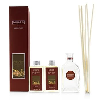 THE CANDLE COMPANY (CARROLL & CHAN) REED DIFFUSER - SANDALWOOD  200ML/6.76OZ