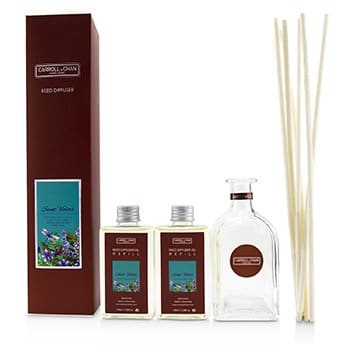 THE CANDLE COMPANY (CARROLL & CHAN) REED DIFFUSER - SWEET VIOLETS  200ML/6.76OZ